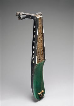 Rabab Date: late 19th century Geography: Algeria or Morocco Medium: Wood, parchment, metal Dimensions: L. 74.9 cm (29-1/2 in.), L. of bow 34.3 cm (13-1/2 in.)