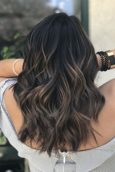 Cool and earthy, this shade is surprisingly refreshing for spring and summer. #womens #hairstyles