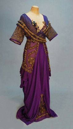 Unique gown from 1914.
