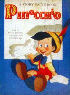Pinocchio Story Paint Book