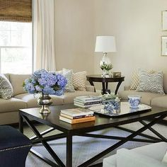 Living Room with Neutral Tones