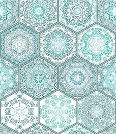 Yükle - Blue green Tiles Floor Ornament Collection Gorgeous Seamless Patchwork Pattern Colorful Painted Tin Glazed Ceramic Tilework Vintage Illustration web page template background Vector  Image. — Stok İllüstrasyon #115703394