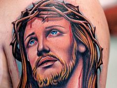 Jesus Tattoo Designs: The 3d Jesus Tattoo Designs And Meaning For Men ~ tattooeve.com Tattoo Design Inspiration