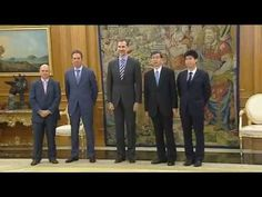Casa de Su Majestad el Rey de España - Actividades y Agenda - Audiencia al Sr. Takehiko Nakao, Presidente del Banco Asiático de Desarrollo. Palacio de La Zarzuela. Madrid, 03.07.2015