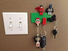 RANDOMNESS AND FUNCTIONALITY COMBINED omg this is perfect I have a Lego yoda on my key chain! Never loose them again!
