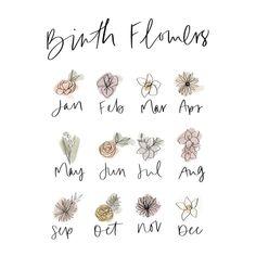 Mommy Tattoos, Family Tattoos, Sister Tattoos, Future Tattoos, New Tattoos, Tatoos, Flower Tattoo On Ribs, Birth Flower Tattoos, Small Symbol Tattoos