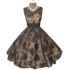 1950's Clothes / Pretty via Polyvore