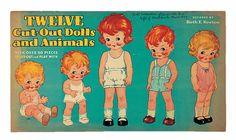 American Paper Doll Book Designed Ruth E. Newton for Whitman
