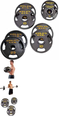 Weight Plates 179817 70Lb Weight Plate Set Standard 1 Barbell Dumbbell Cap Iron Gym Home Fitness -\u003e BUY IT NOW ONLY $104.99 on eBay!  sc 1 st  Pinterest & Weight Plates 179817: 70Lb Weight Plate Set Standard 1 Barbell ...