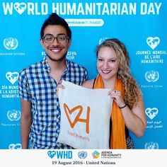 #HeartHumanity at the #unitednations for #sharehumanity #worldhumanitarianday 2016!