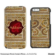 Beautiful Romanesque Mosaic Incipio Watson™ iPhone 6 Wallet Case