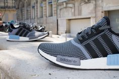 ADIDAS NMD RUNNER BLACK GREY www.cornerstreet.fr