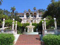 Hearst Castle, San Simeon, California.  Opulent, gorgeous, amazing!