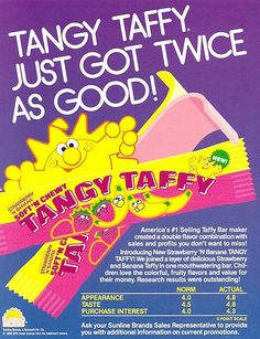 Tangy taffy candy #90skidcandy