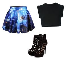 """""""In a galaxy far far away"""" by ksbrandt5380 ❤ liked on Polyvore featuring Chicnova Fashion and adidas Originals"""