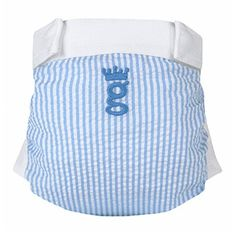 gPrince gPants are soft cotton diaper covers - gDiapers