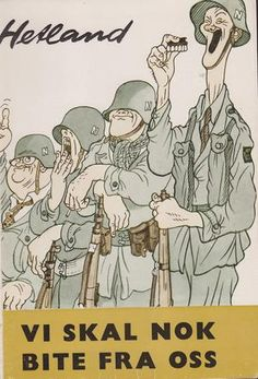 Vi skal nok bite fra oss - soldater fra perm til perm . Perm, Comics, Reading, Memes, Meme, Reading Books, Cartoons, Comic, Comics And Cartoons