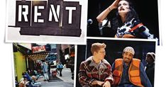 Twenty years after Jonathan Larson's posthumous triumph arrived on Broadway, the cast relives the rise of a musical that changed theater. Jonathan Larson, Rent Movies, Idina Menzel, Oral History, The Twenties, Theater, Musicals, Broadway, It Cast