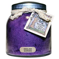 A Cheerful Giver English Garden Papa Jar Candle, 34-Ounce -- Final call for this special discount  : baking desserts recipes