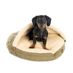 Let your pet hideaway on cold evenings is this tweed snuggle bed from Country and Twee. Lined with Sherpa fleece – this bed is ideal for cosying up in on cold evenings, and the tweed pattern is perfect for pooches who want to give a little nod to English heritage.Super practical too – the cushion pad is hollow fibre so will always keep its shape when washed.Additional information and key product features:Tweed - 30% wool and 70% polyester.Sherpa fleece lining - 100% polyester.Available in…