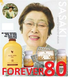Healthy in the golden years with Forever Living Products. Recommended supplements for a healthy long life!!!