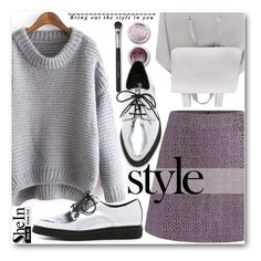 """""""Street Style"""" by pokadoll ❤ liked on Polyvore featuring Bare Escentuals, Opening Ceremony, Mercedes-Benz, Sheinside and shein"""