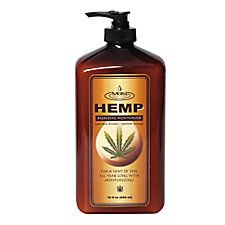 Say what you want about THC, but this is the best lotion I've ever used. The color goes on evenly and it's not greasy. The smell isn't that great but I love everything else about it. Get it at Sally's!