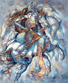 Original Horse Painting by Jeanne Saint Cheron Wolf Painting, Acrylic Painting Canvas, Canvas Art, Paintings For Sale, Original Paintings, Original Art, Horse Paintings, Modern Paintings, Art Fair