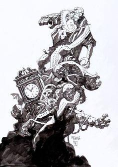 Hellboy, Mignola