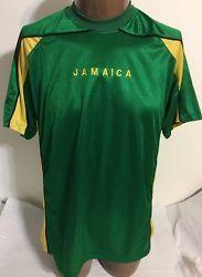 Jamaica Casual Gear Soccer Shirt Size Large