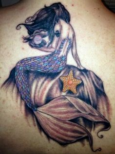 Heres someone who got that tat but some parts are done poorly... I like the starfish