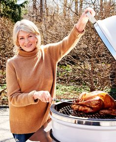 Martha Is Firing Up the Grill for a New Thanksgiving Tradition