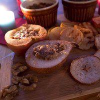 Pieczone jablko i gruszka z nutka cynamonu i chili czyli zapach zblizajacych sie swiat