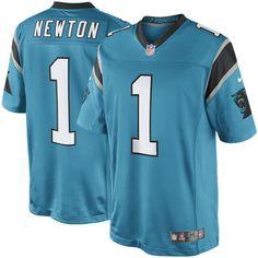 Nike Cam Newton Carolina Panthers Limited Jersey – Panther Blue