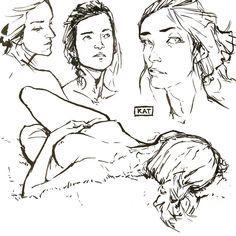Last week's figure drawing session!
