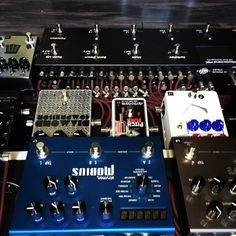 Jerry Nepomuceno uploaded this image to 'Pedalboard Builds'. See the album on Photobucket. Guitar Effects Pedals, Guitar Pedals, Pedalboard, Debbie Harry, Rigs, Boards, Music, Album, Image