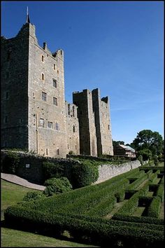 - Bolton Castle, Wensleydale,Yorkshire,  England, built in 1379 by Sir Richard Scope, Treasurer of England under King Richard II