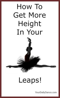 Ways to increase the height of your leaps...