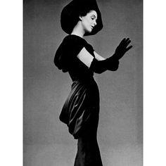 1950 - Balenciaga drapée dress by Philippe Pottier.