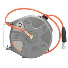 97.49$  Watch now - http://ali4so.worldwells.pw/go.php?t=32740007555 - Cheap High Quality HD-610 33ft by 1/4-Inch I.D. Retractable Air Hose Reel Air Blower Industrial Blower Pneumatic Tools 97.49$