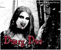 """Most fans of Celtic culture already know that Dracula is the Irish creation of Bram Stoker, who wrote that scary novel, but there's also a vampire that resides right smack in the middle of Ireland. Dearg-due, an Irish name meaning """"red blood sucker,"""" is a female demon that seduces men and then drains them of their blood. Read more in Celtic Guide October 2015 issue. All issues are always FREE at www.celticguide.com Print copies for sale through Amazon: http://astore.amazon.com/celticguide-20"""