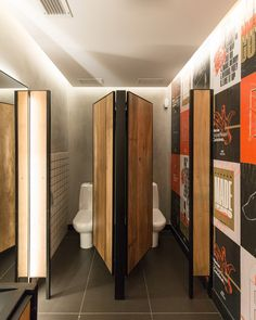 Roister, Porto Alegre - Brasil \ Butiá Arquitetura #wc #bathroom #restaurant