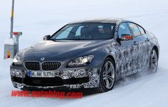 BMW M6 Gran Coupe spotted testing