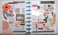 planner spread happy planner