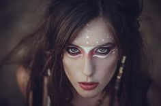 Our Wild Spirt photoshooting with amazing @anna1000s as the makeup artist and Nefeli as the gorgeous model!  #portrait #makeup #feral #model #female #girl #fashion #conceptual #artistic #natural #tribal #hair #dark