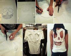 make your own skull