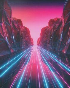 All Synthwave retro and retrowave style of arts Cyberpunk Aesthetic, Neon Aesthetic, Cyberpunk Art, Glitch Kunst, Glitch Art, Vaporwave Wallpaper, Retro Kunst, Retro Art, Trippy Wallpaper
