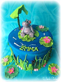 Hippo Cake Nilpferd Kuchen