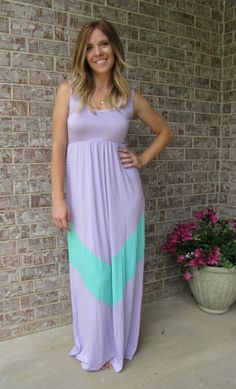 RubyClaire Boutique - The Anna Maxi Dress Lilac and Mint, (http://www.rubyclaireboutique.com/the-anna-maxi-dress-lilac-and-mint/)
