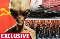 CAVERNA DOS MITOS: CONFLITO RUSSO COM UFOS DURANTE GUERRA FRIA!!!
